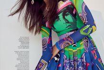 Gizele Oliveira for Harper's Bazaar Kazakhstan
