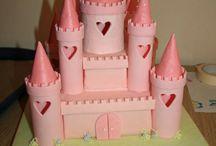 Taart kasteel