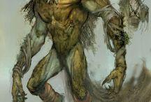 Creatures ref - warewolf