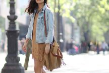 Suede clothes / How to wear suede clothes