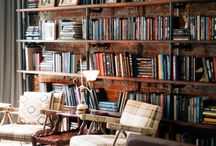 Bookcases/library's