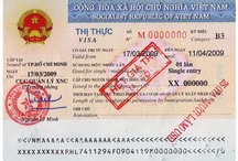 A sample of Vietnam visa issued at Vietnam airport / Visa Vietnam services are extremely affordable and prompt, and at the same time protecting you legally so that your travel to Vietnam is safe and you travel around places of interest in Vietnam with total security.