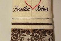 Ręcznik z imieniem na prezent