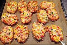 Pizza Brötchen