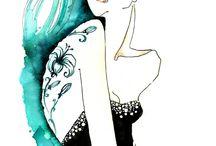 Fashion : Illustrations