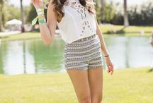 Summer Looks / Summer outfit ideas and inspiration