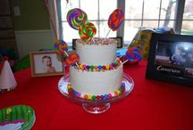 Willy Wonka Birthday Party / by Grace Blancaflor Urbasic