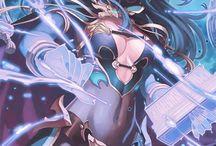 Anime and Comic Art