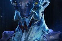 Characters - Cyberpunk / Sci-fi / Futuristic
