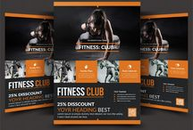 20+ Fitness Flyer Template PSD for Fitness Center, Gym and Health Products / Fitness Flyers are an ideal way to tell the general population what you are up to and on the off chance that you run a fitness focus, it gets to be compulsory to make an alluring fitness flyer to achieve greatest potential customers.