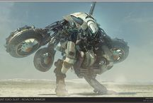 SciFi Armor & CG Beauty