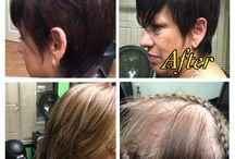 Short Hair , Short Hair Pixie, Short Hair Sewins that look Natural, / Short Sewin