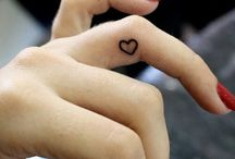 Finger tatoos