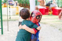 Nossas festas: Homem Aranha  (Igor 3 anos)