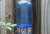 CORNFLOWER BLUE GLASS