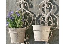 Pot plants holders