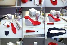 gum paste heels