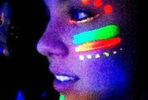 luzes neon