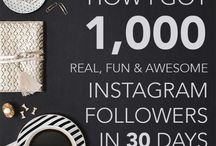 Grow Instagram Following - Tips / tips to Grow Instagram Following, audience, followers,for your Business