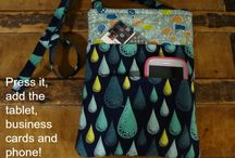 DIY tablet sleeves, bags and purses