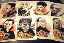 Vintage monsters