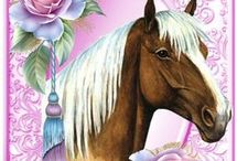 horse/ animal cards