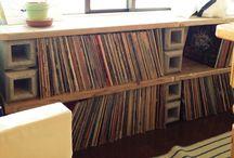 レコード収納