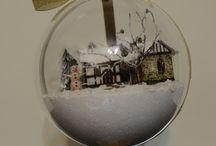 jokoart.pl : Świątecznie / holidays / dekoracje świąteczne zrobione przeze mnie (bombki, bombki 3d, śnieżynki, aniołki, choinki, koszyczki, stroiki, pisanki itp.) / Christmas and Easter decorations made by me