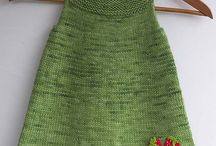 Robes fillette Tricot et crochet