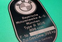 BMW OLD MOTORCYCLE R90/6