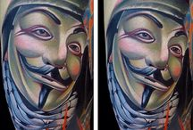 Mike Demasi / Mike Demasi is an Intenze sponsored artist that tattoos in California and specializes in Color Portraits.