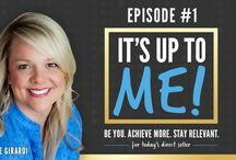 It's Up to ME! / NEW Facebook live show for direct sellers and network marketers by direct selling and social marketing expert Laurie Girardi