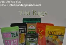 Tea Packaging Bags / Tea Packaging Bags, tea pouches, loose tea bags, stand up pouches and #TeaPackaging bags. http://www.standuppouches.com/tea-packaging.html