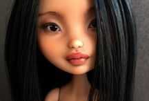 Panenky,Repainted Dolls