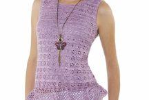 croche dresses