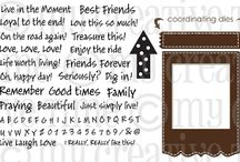 Just Simply Live / Inspiration for this stamp set and coordinating dies! / by My Creative Time