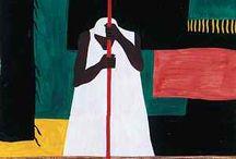 Gouache artists / Gouache medium paintings