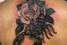 Tatouages de scorpion