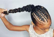 penteados de criança