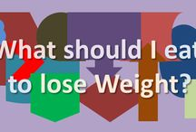 What should I eat to lose Weight? / A balanced diet is What you should eat to lose Weight. A healthy combination of vitamins, minerals, protein, fat and carbohydrate is What one shouldeat to lose Weight.  If you askhow much should I eat to lose weight, you must eat fewer calories than you burn.
