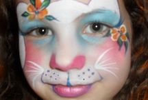 rabbit face painting
