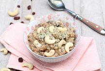 Breakfast / Healthy and tasty breakfast ideas   Gezonde en lekkere ontbijt ideeën