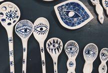 Ceramics, etc.