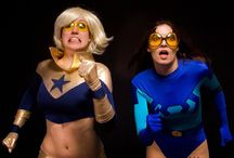 bettle blue / and booster gold