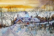 Festive paintings / Seasonal, festive and Christmassy paintings from Painters-Online