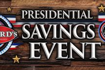 Presidential Savings Event / Giving You the Freedom of Choice