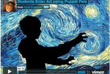 Ma classe en arts / Pour des explications de techniques, des outils à remettre aux élèves ou des sites Web utiles pour les arts. / by Louise Gagnon