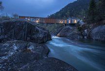 Architecture: Bridges / #Architecture & #engineering of #bridge structures for pedestrian, and transport.