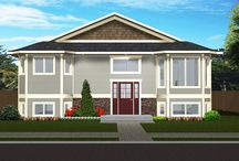 Standard Bi-Levels / Looking for a great starter home?  These designs have no garage and will fit well on a narrow lot or infill lot.