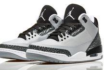 Air Jordans 3 Wolf Grey